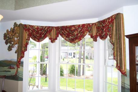 Custom Made Swags And Jabots Add Elegance To Any Room! Factory Direct  Window Treatments Designs All Of The Patterns In Our Workroom.